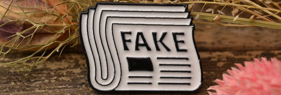 Pin, Fake news