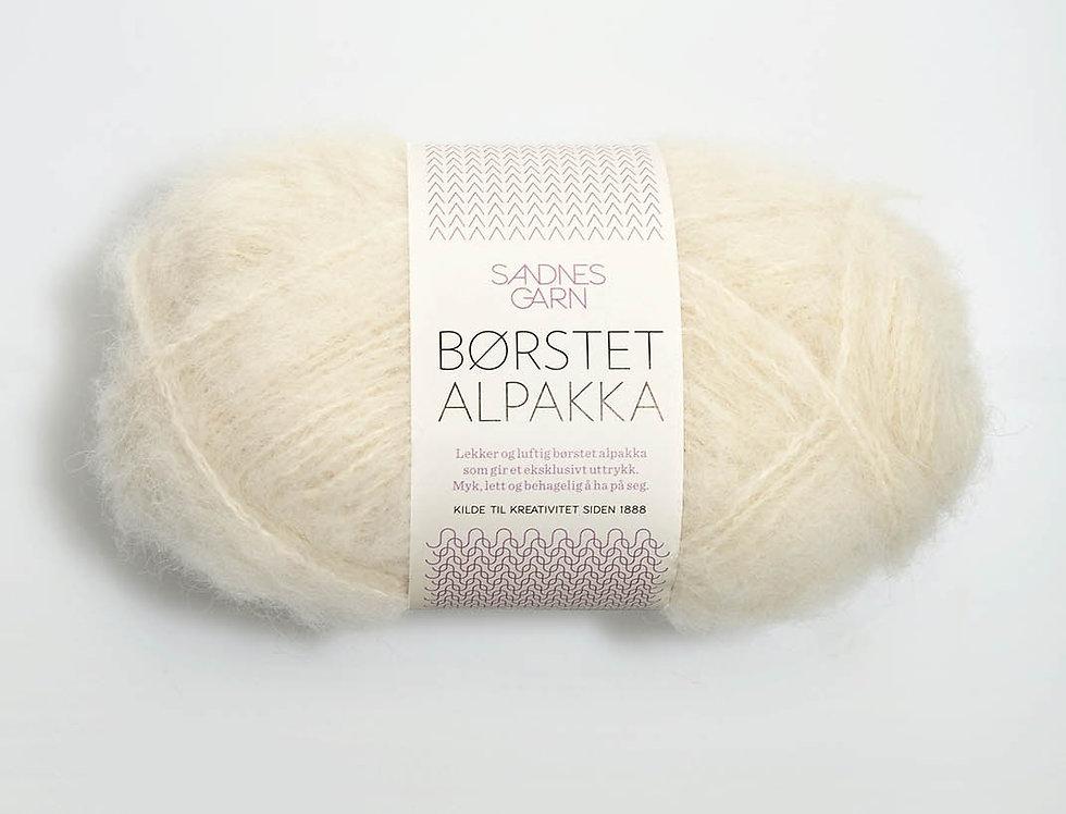 Børstet Alpakka 1012