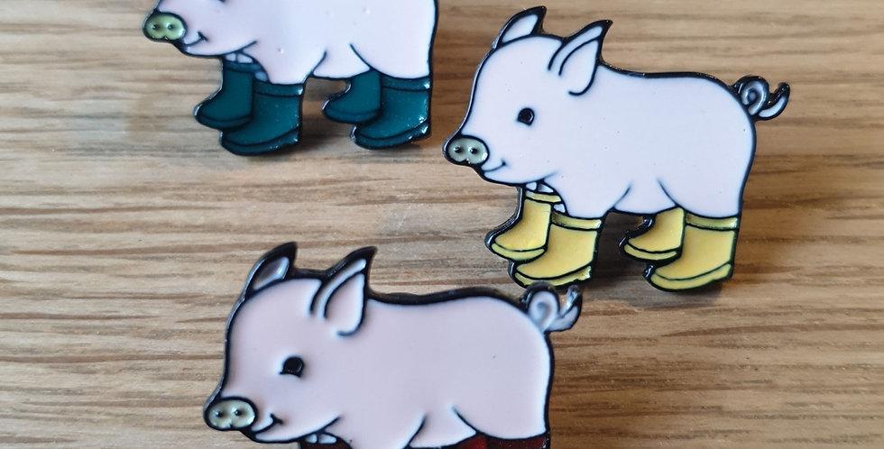 Pin, Sæt med 3 grise med støvler