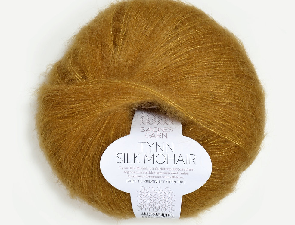 Tynn Silk Mohair, 2136 Okker
