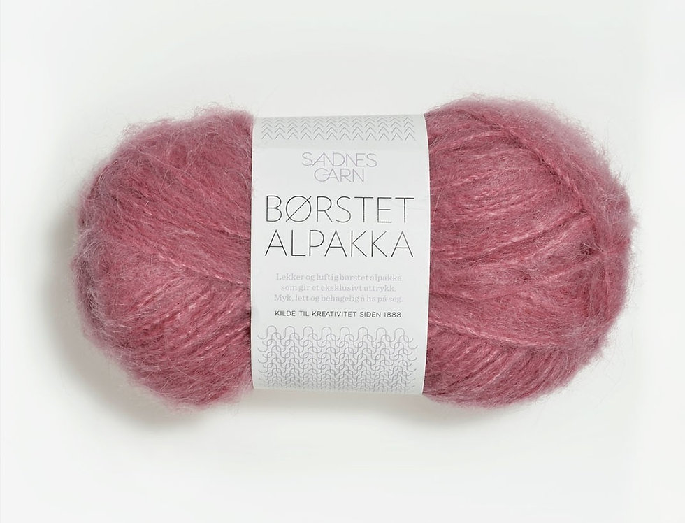 Børstet Alpakka 4324