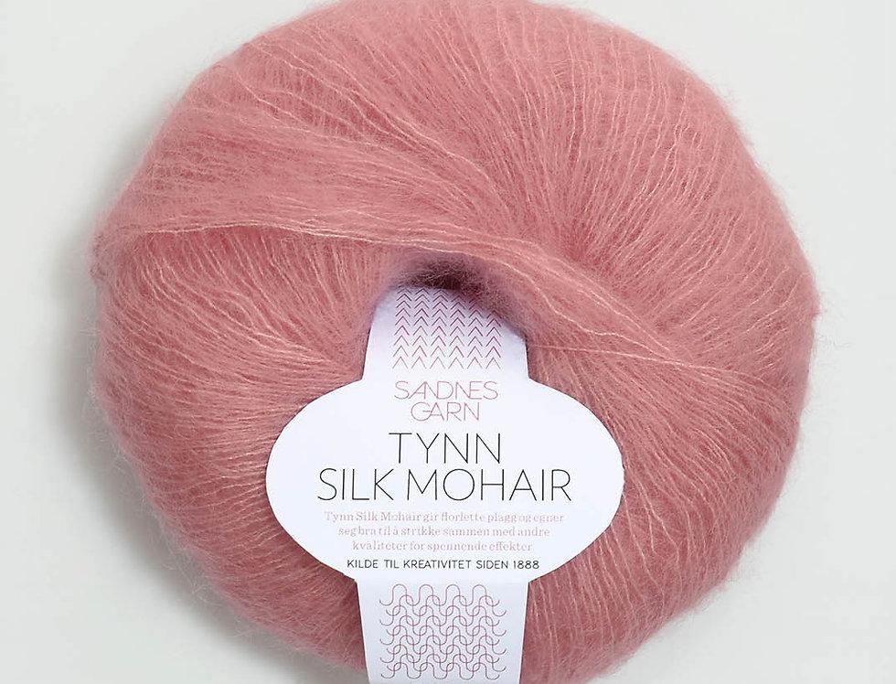 Tynn Silk Mohair, 4323 Rosa