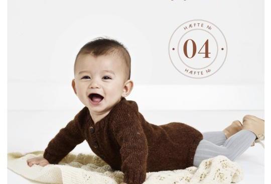 Babystrik på pinde 3½ - 4 ( Hæfte No. 4)