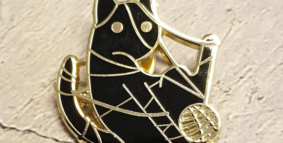 Pin, Indviklet kat