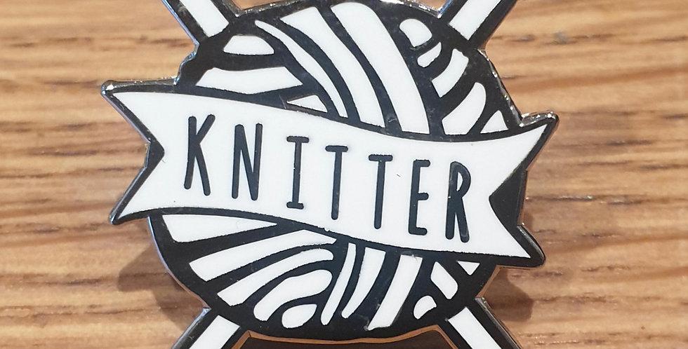 Pin, Knitter