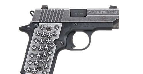 SIG SAUER P238 WE THE PEOPLE