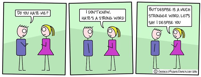 Do You Hate Me?