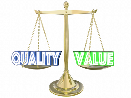 Quality vs. Value