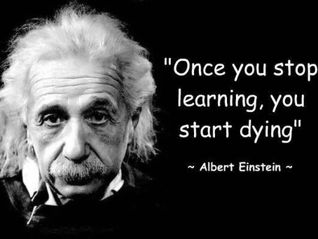 Don't Stop Learning!