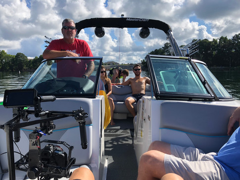 Setting up on Speed boat