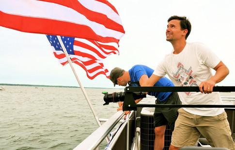 Shooting on Lake Murray
