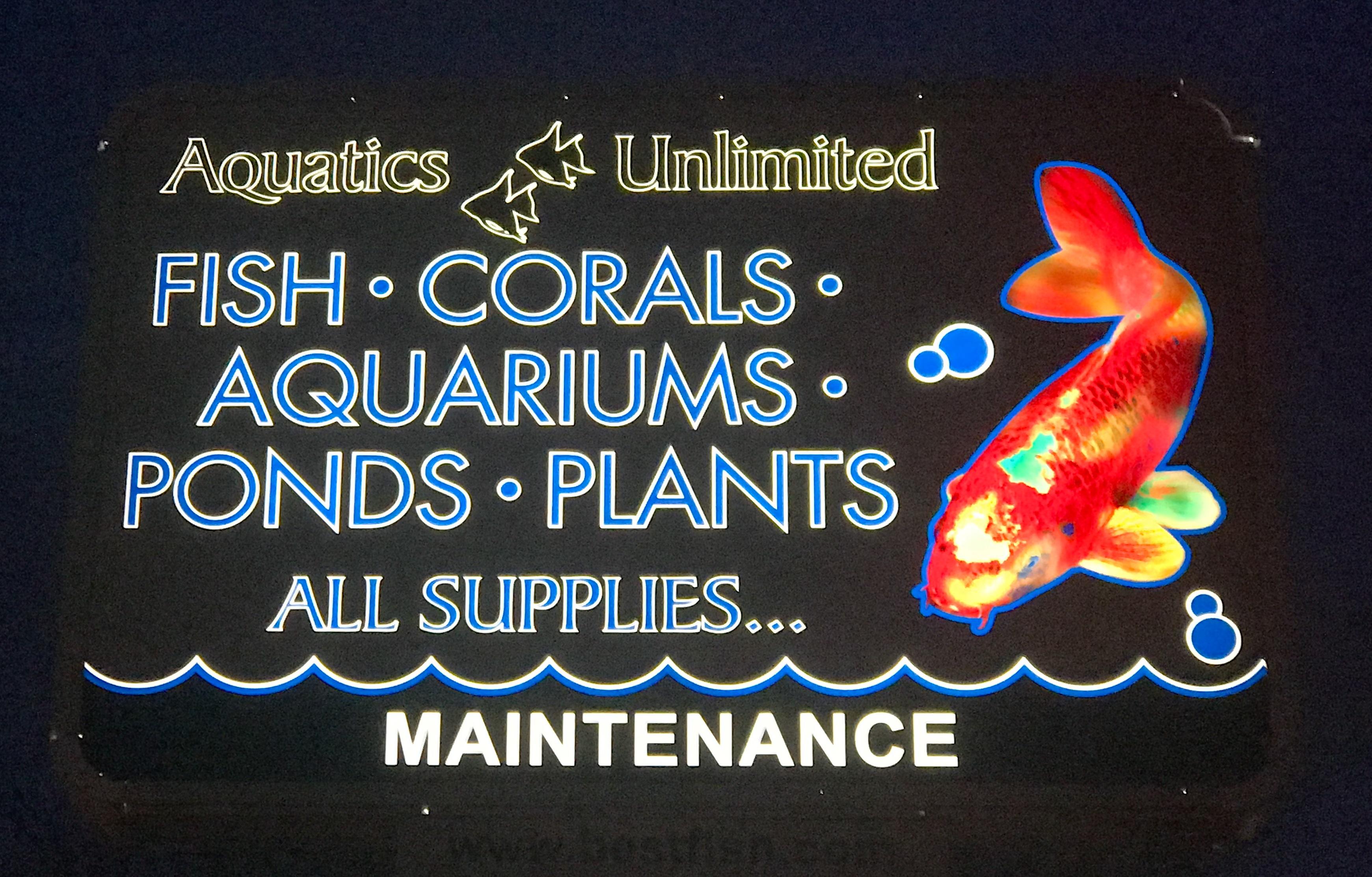 Aquatics Sign