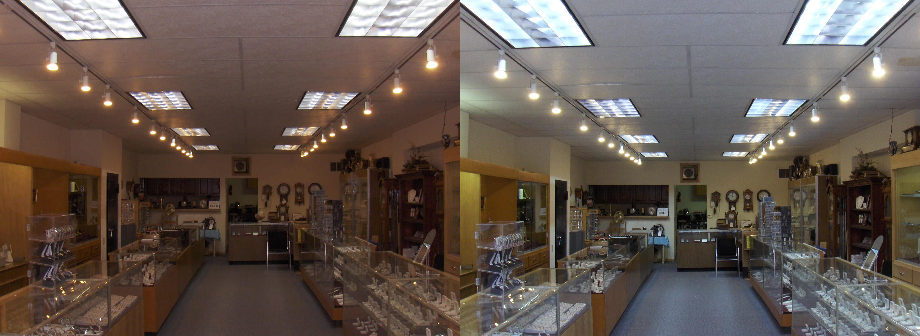 LEDs in jewelry store 2015 DLC