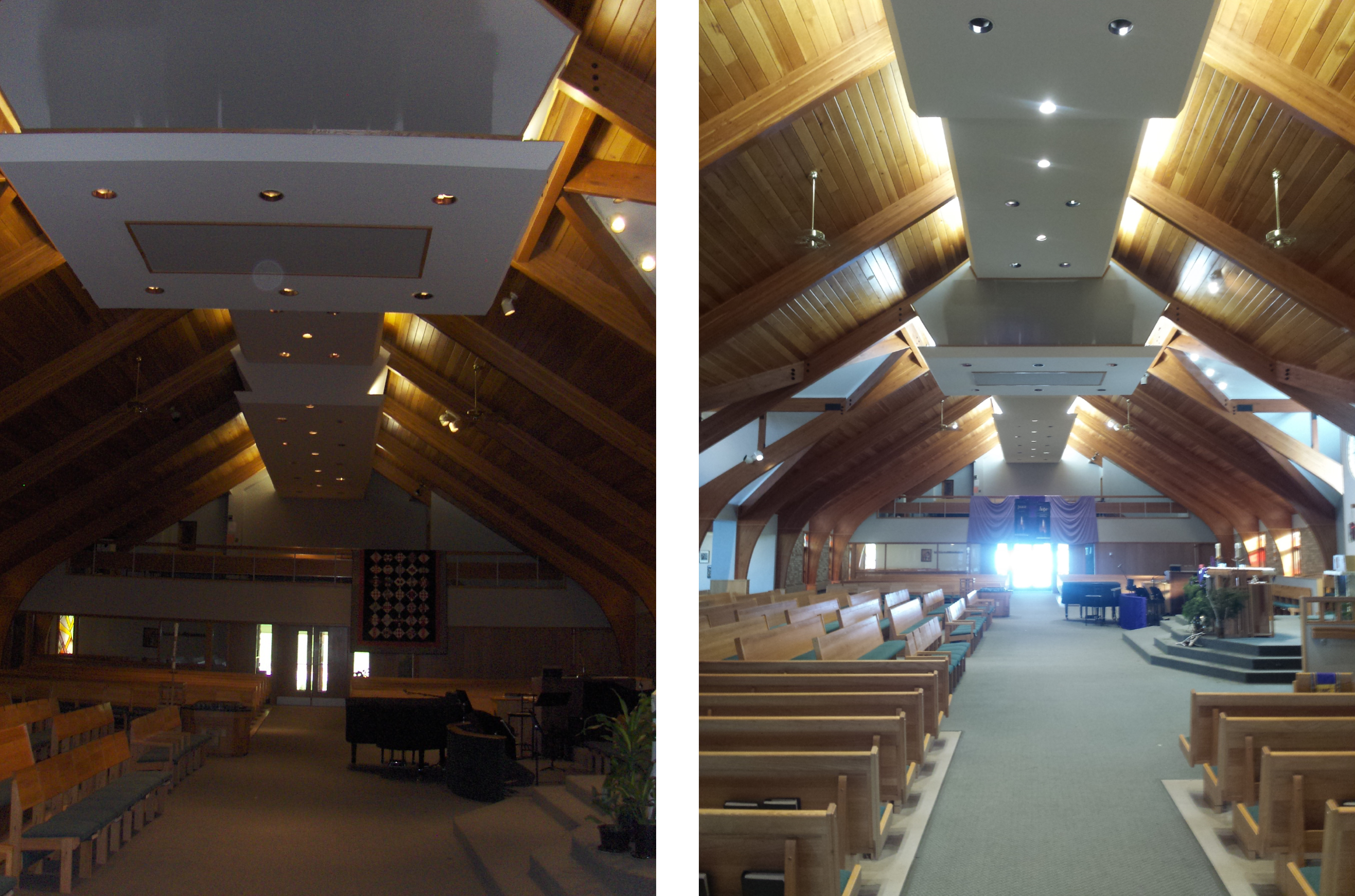 Church LED lighting