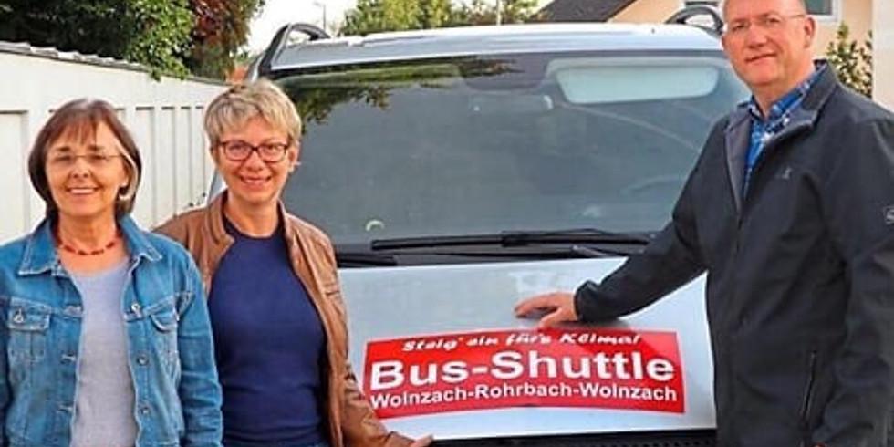 Busshuttle 'Steig ein fürs Klima'