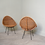 Thumbnail: Pair of rattan chairs. Italy c.1950