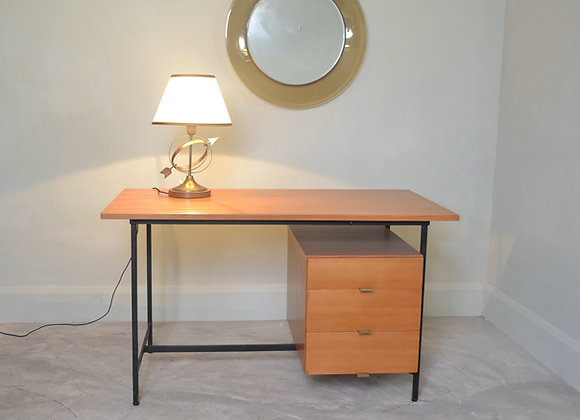 Pearwood desk designed by Alain Richard.