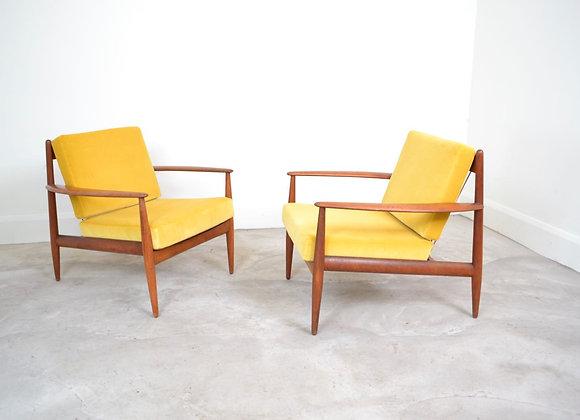 Pair of Danish chairs
