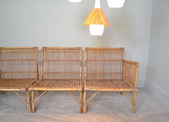 Bamboo chair group