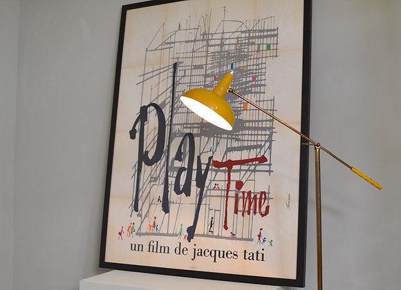 """Jacques Tati """"Play Time"""" film poster"""