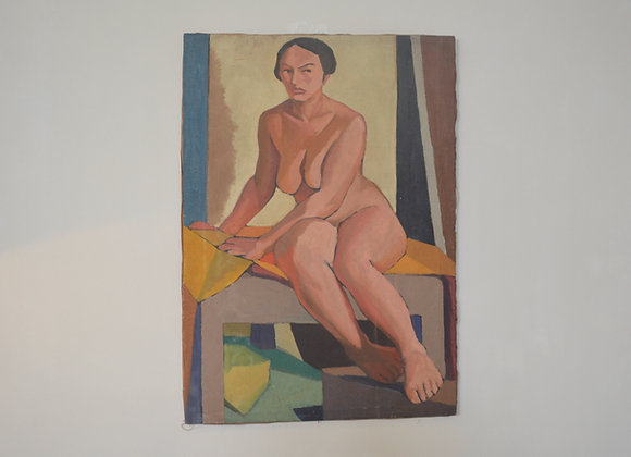 1930's oil painting