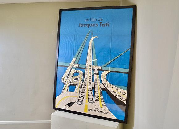 """Jacques Tati film poster """"Traffic"""""""