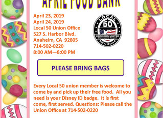 APRIL FOOD BANK