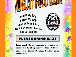 AUGUST FOOD BANK