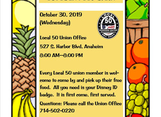OCTOBER FOOD BANK