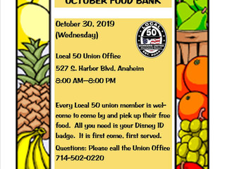 OCTOBER FOOD BANK