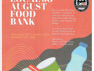 AUGUST FOOD BANK