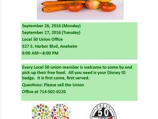 September Food Bank