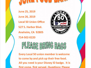 JUNE FOOD BANK