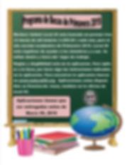 Spanish 2019 Spring Scholarship Flyer.jp