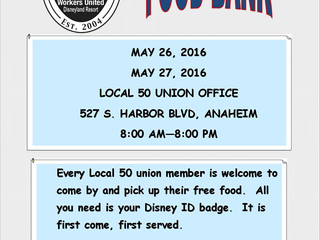 Volunteers are welcome.  Contact the Union Office if interested at 714-502-0220.