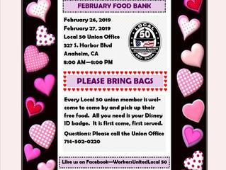 FEBRUARY FOOD BANK