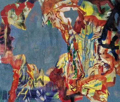 Genie Bottle, 24 x 20in, Oil on Canvas