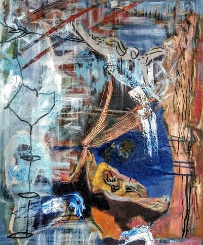 GuardianAngel, 24x20in, Oil on Canvas