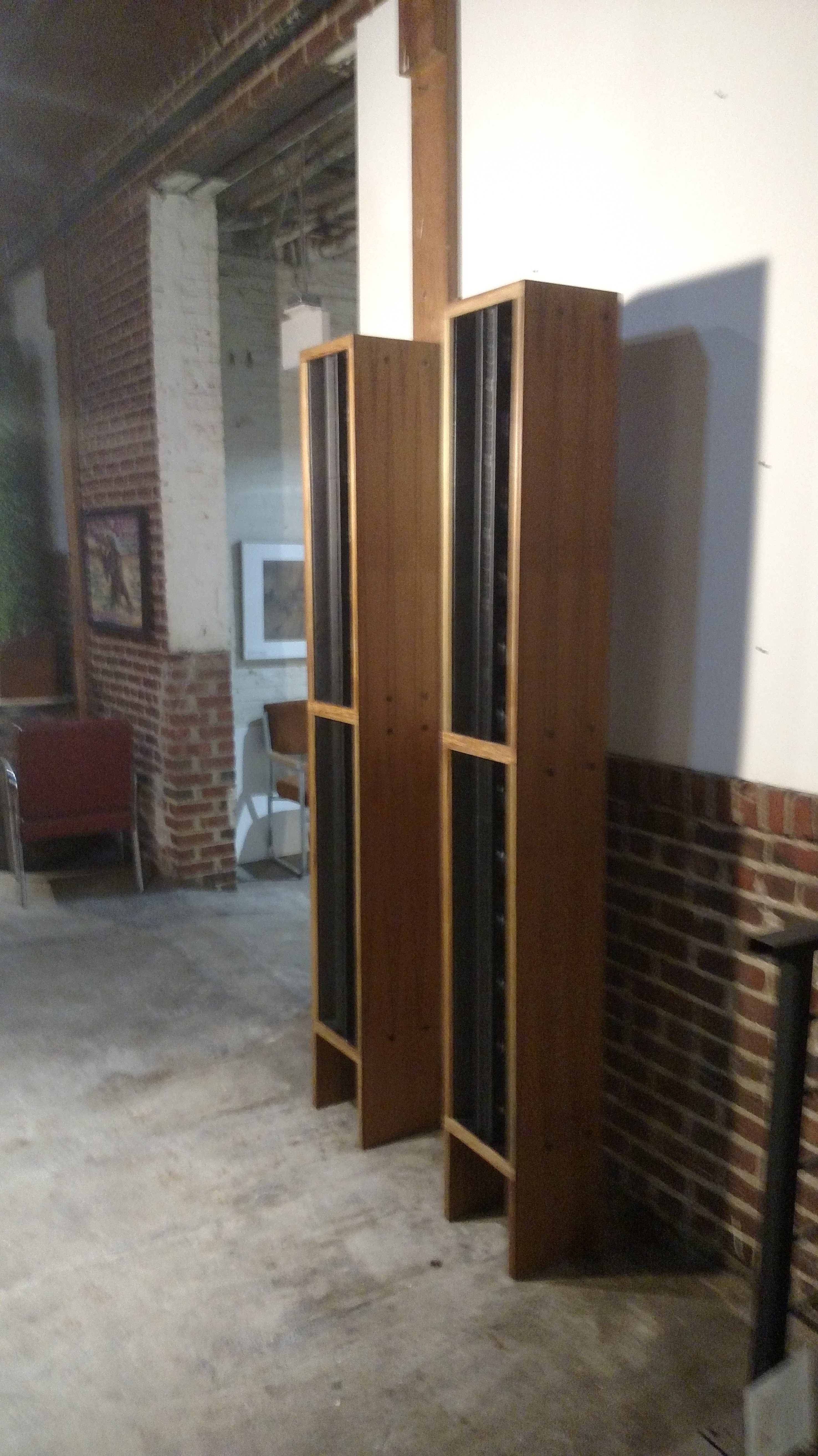 Teak Speaker Cabinets
