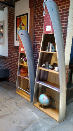 Canoe Shelves