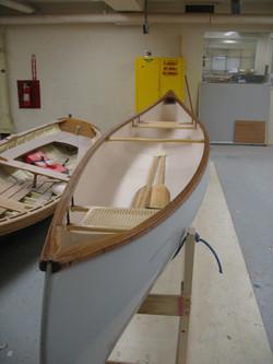 Fiberglass Canoe