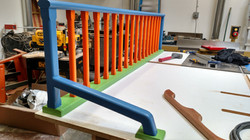 Poplar Kids Room Railing