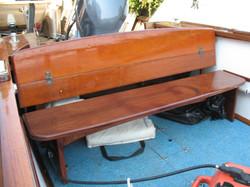 Stern Seat Mahagony