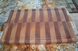 Red Birch and Cherry Butcher Block with
