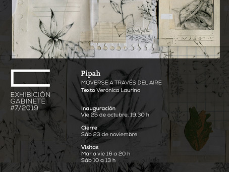 """""""MOVERSE A TRAVÉS DEL AIRE"""" de Pipah. Por Verónica Laurino"""