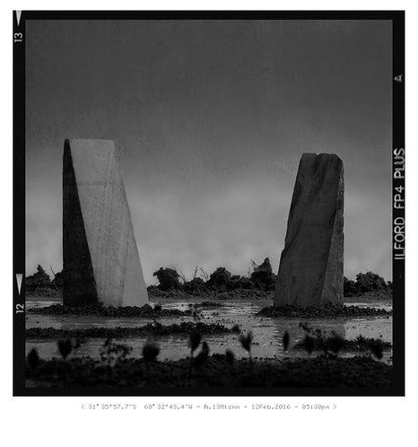 "LUCAS BRAGAGNINI - Fotograma 12-13 - Serie ""Meridiano 4267"""