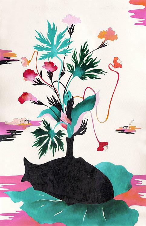 CARLA COLOMBO - Pez negro