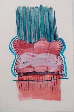 acuarela, 14 x 21 cm - 2018