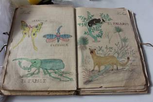 Cuaderno con dibujos del Nono Bartolo_19