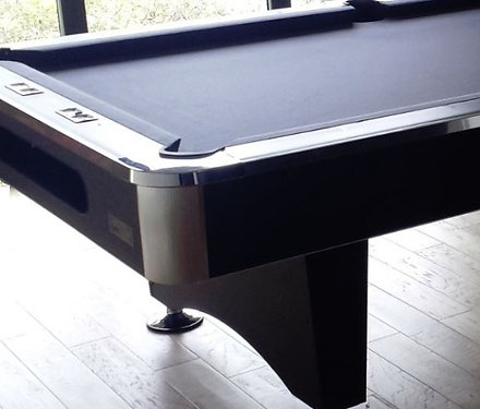 The Black Widow Slate Pool Table By Best Buy Pool Tables Is A High Quality Billiards  Table That Features Durable Metal Beam Frame Construction And A Premium ...